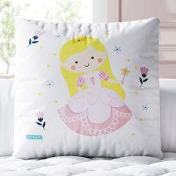 Almofada Quadrada Princesa Elisa 30cm