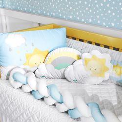 Kit Berço Trança Nuvem e Sol