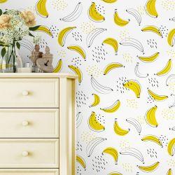Papel de Parede Bananas 3M