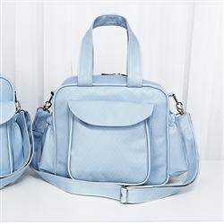 Bolsa Requinte Azul P