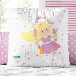 Almofada Quadrada Princesa Luna 30cm