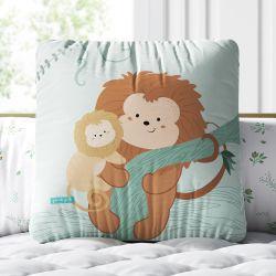 Almofada Quadrada Amiguinho Mico-Leão-Dourado