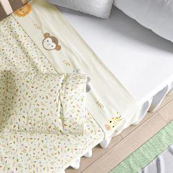 Jogo de Lençol Berço Selva Baby