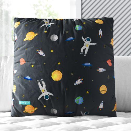 Almofada Quadrada Astronauta 30cm