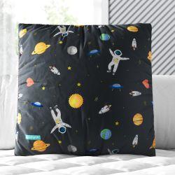 Almofada Quadrada Astronauta 33cm
