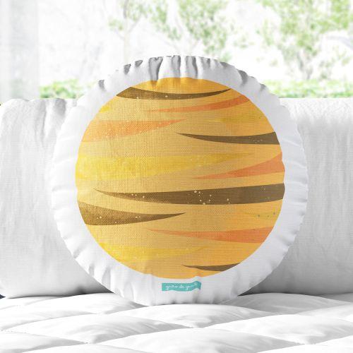 Almofada Redonda Planeta Vênus 30cm