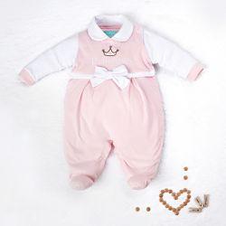 Macacão Baby Princess Rosa