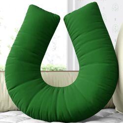 Almofada Amamentação Verde Bandeira
