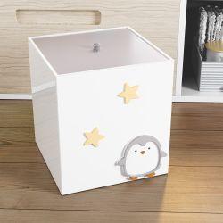 Lixeira Pinguim Estrelinha