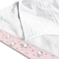 Toalha Fralda Hello Kitty 1,05M