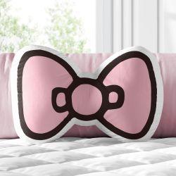 Almofada Rosa Laço Hello Kitty 32cm