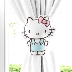 Prendedor de Cortina Hello Kitty 02 Peças