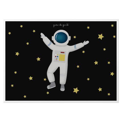Quadro Astronauta 33cm