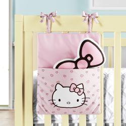 Porta Brinquedo Hello Kitty Rosa