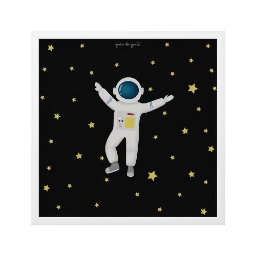 Quadro Astronauta 38cm