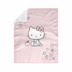 Manta Dupla Face com Soft Hello Kitty Rosa 1M