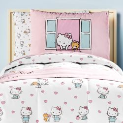 Kit Cama Infantil Solteiro Hello Kitty