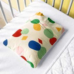 Fronha Bebê Colorido Geométrico Moderno