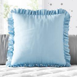 Almofada Quadrada Babadinho Azul 38cm