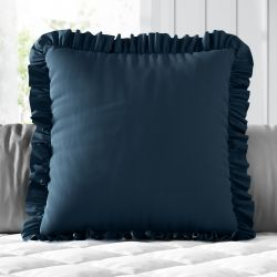 Almofada Quadrada Babadinho Azul Marinho 38cm