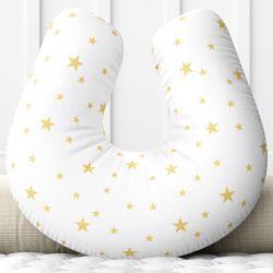 Almofada Amamentação Estrela Estrelinha Amarelo