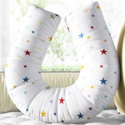 Almofada Amamentação Estrela Estrelinha Colorida