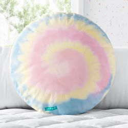 Almofada Redonda Tie Dye Candy Colors 33cm