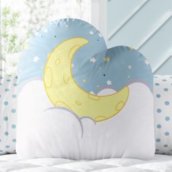 Almofada Noite de Luar com Estrelinhas 32cm