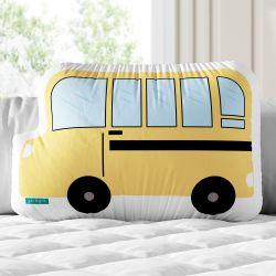 Almofada Ônibus Escolar Amarelo 35cm