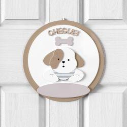 Porta Maternidade Personalizado Cachorrinho