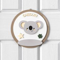 Porta Maternidade Personalizado Coala