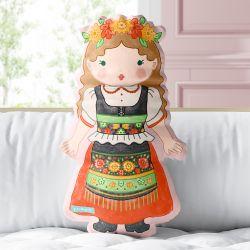 Almofada Meninas do Mundo Sophie 33cm