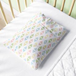 Fronha Bebê Geométrico Multicolor