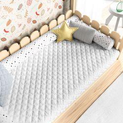 Edredom Infantil Mini Cama Montessoriano Branco