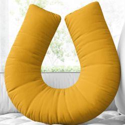 Almofada Amamentação Amarelo Mostarda