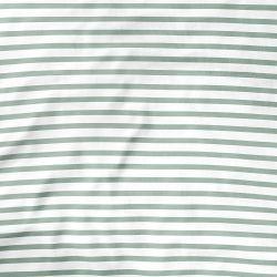 Lençol Berço com Elástico Listra Verde
