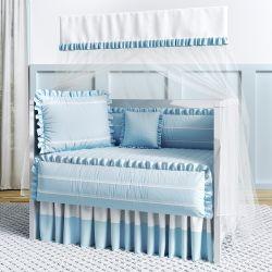 Quarto de Bebê Azul Tranquilidade
