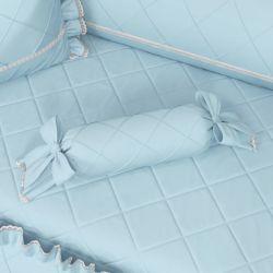 Almofada Apoio Bala Azul Clássico 60cm