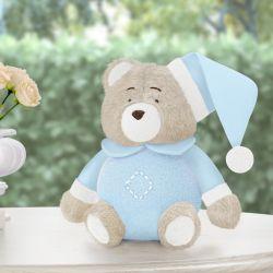 Urso de Pelúcia Soneca Azul 12cm