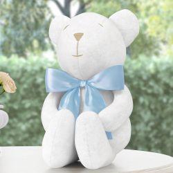 Urso de Pelúcia Soneca Azul 18cm