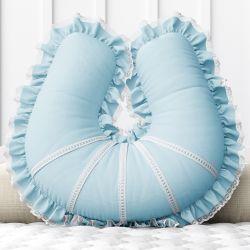 Almofada Amamentação Azul Clássico