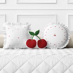 Almofadas Cerejinhas 3 Peças