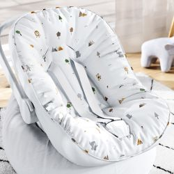 Capa de Bebê Conforto com Protetor de Cinto Savana Baby