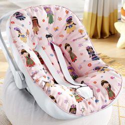 Capa de Bebê Conforto com Protetor de Cinto Meninas do Mundo