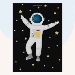 Pôster Adesivo Astronauta