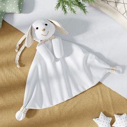 Naninha de Bebê Coelhinho Branco