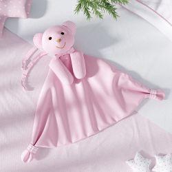 Naninha de Bebê Ursinha Rosa