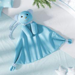 Naninha de Bebê Ursinho Azul