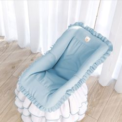 Capa de Bebê Conforto Azul Clássico