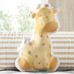 Almofada Girafa Aquarela 30cm